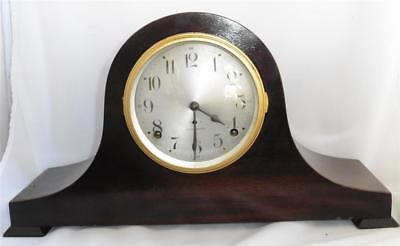 Vintage Seth Thomas Tambour Mantle Clock - Works