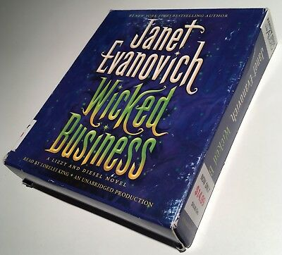 Wicked Business by Janet Evanovich read by Lorelei King Unabridged CD Audio Book