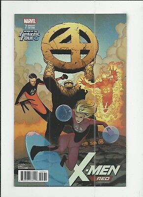 X-Men Red #7 Dave Marquez Fantastic Four Variant Cover (VF+) condition
