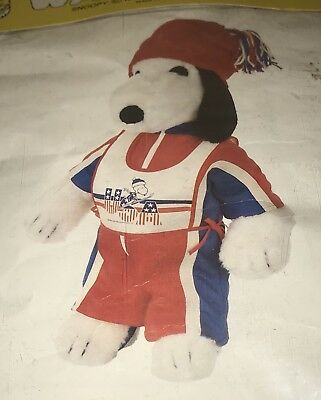 Vintage Snoopy's Wardrobe USA Ski Outfit-New In Package
