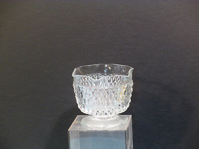 Antique glass jelly dish compote