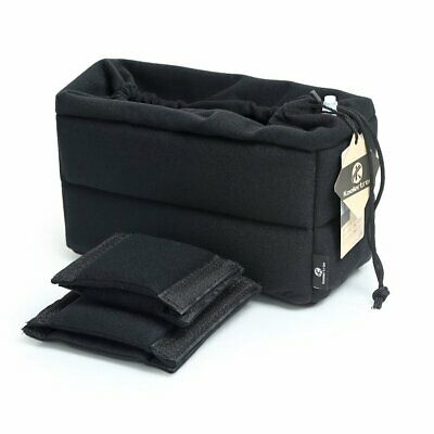 Waterproof Partition Padded Camera Bag DSLR SLR TLR Insert Lens Protection Case