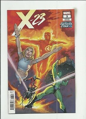 X-23 #3 (2018) Carlos Pacheco Fantastic Four Variant Cover (VF+) condition