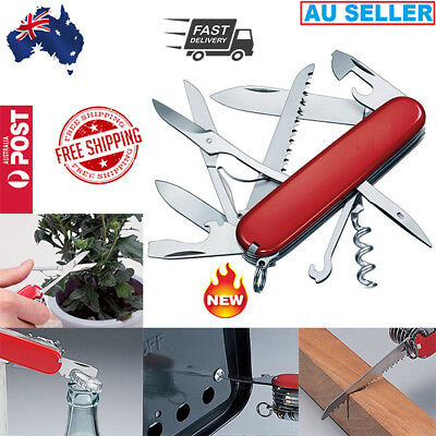 Army Multi Function Pocket Knife Field Master Military Knife Sports Aus