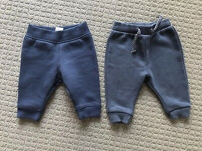 2 x Baby Track Pants. Size 000.
