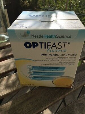 OPTIFAST Optifast Home Drink (8x55g), Geschmack Vanille
