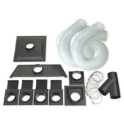 """Carbatec 4"""" Dust Collection Accessory Kit"""