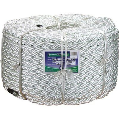 Coil 6mm x 250Mtr 60/% Polyester//40/% Polypropylene Crab Pot /'Sink Rope/' White
