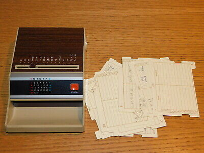vintage japon PAL CARL D-760 JAPAN repertoire de TELEPHONE LIST FINDER calendar