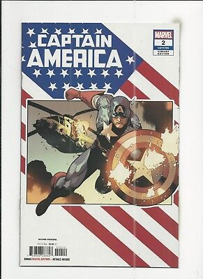 Captain America #2 (#706) 2nd Printing Variant Cover near mint- (NM-) condition