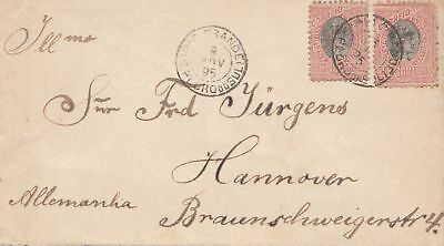 Brazil: 1895: cover to Hannover/Germany
