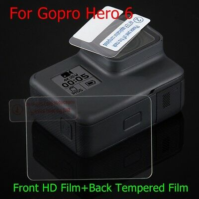 Hot Tempered Glass Protector HD Film For Go pro Hero 6 Camera Lens LCD Screen