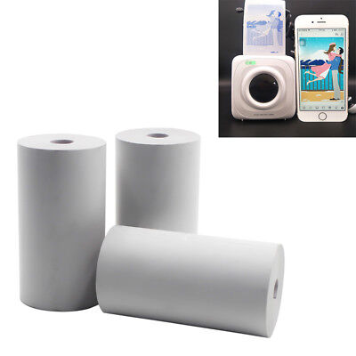 3 Rolls Thermal Printing Paper 57x30mm Bill Receipt Papers for Paperang