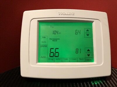 Totaline Deluxe Touchscreen 7-Day Programmable Thermostat Backlit P340-1110 GC
