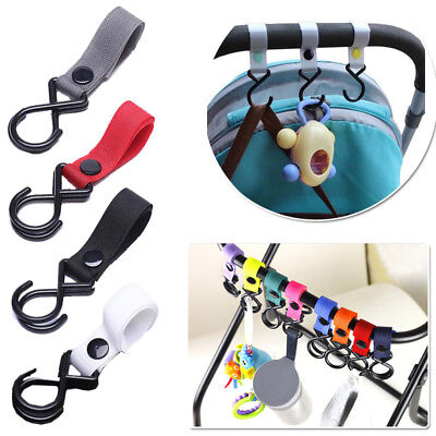 Velcro Buggy Hook Pram Hooks Hanging hook for toys Clip Storage pram accessories