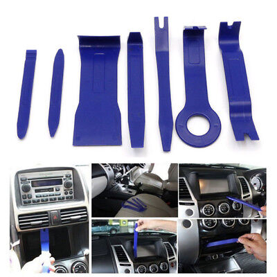 New 7Pcs Car Interior Dash Radio Door Clip Panel Trim Open Removal Tools Kit Hot