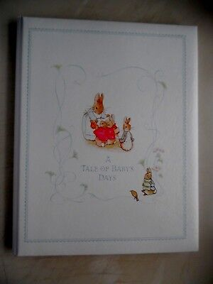 Beatrix Potter A Tale Of Baby's Days Baby Album 1976 C R Gibson Very Good