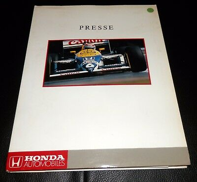 Alte Honda Pressemappe! 1988! Deutsch extrem rar! F1, Civic, Accord, Prelude....