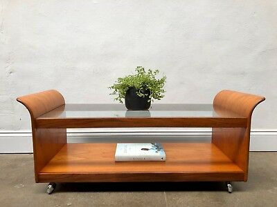 Vintage G Plan Tulip Astro Teak Coffee Table. Danish Retro. DELIVERY AVAILABLE