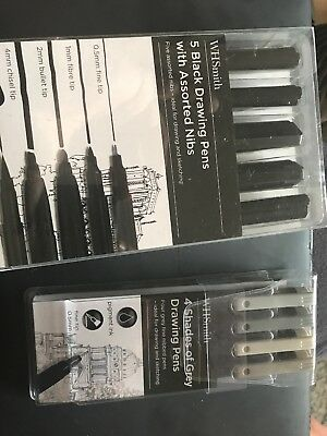 Drawing Pencils x 2 Packs. New Sealed