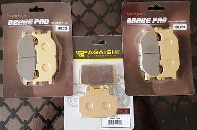 Yamaha XJ 600 S Diversion Front & Rear Brake Pads Full Set 1998 - 2003