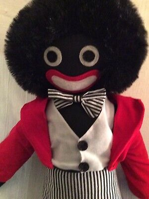 Extremely Cute Lg Black Americana Sambo /? Type U.K. Rag Doll Collection