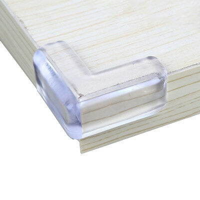 4Pcs Soft Clear Table Desk Corner Protector Cushion  Edge Guard Good Baby Safety