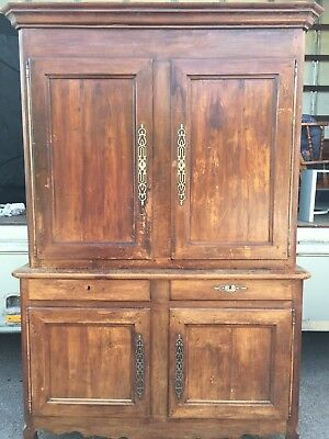 Antique French Large Dresser/Cupboard/Wall Unit