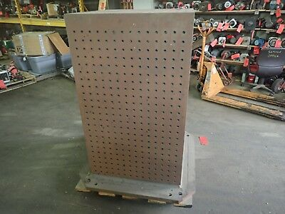 "Makino MC1516-A99_ 30"" x 30"" x 50-5/8"" H Tombstone_Welding Layout_Fixture Plate"