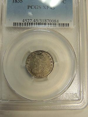 1835 United States Silver Capped Bust Dime PCGS XF45