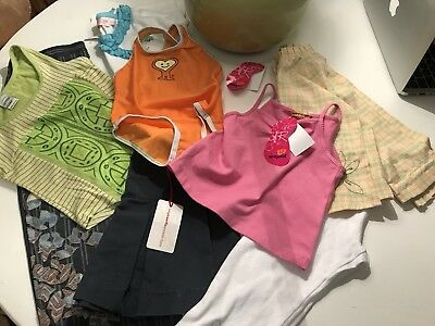 Girls Designer Lot. Save The Queen etc Full Rrp £165 New Age4-6