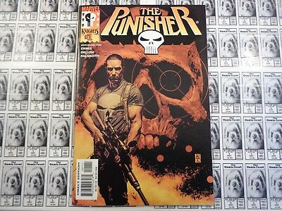 The Punisher (2000) Marvel - #1, 1st Print, Frank Castle, Ennis/Dillion, NM-