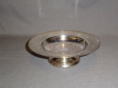Attractive Small Silver Plated Raised Dish / Comport - Barker Ellis
