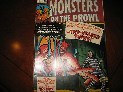 Monsters on the Prowl#26 Marvel Comics 1973 Very FIne