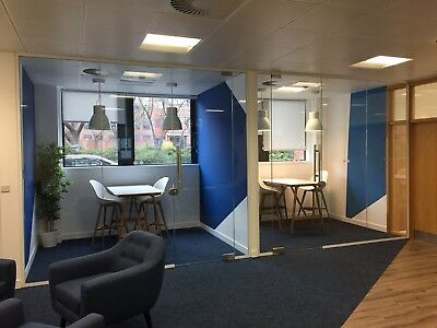 Office Glass Partition- Glass Partitioning- Glass Meeting Room- NEW - IN STOCK