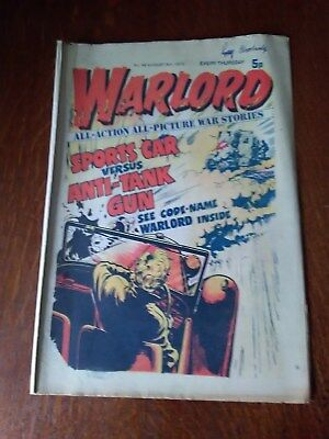 Warlord Comic Issue No 46. August 9th 1975.
