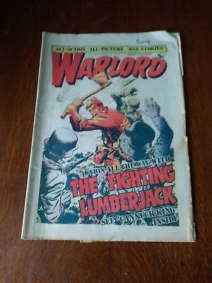 Warlord Comic Issue No.46 August 2nd 1975