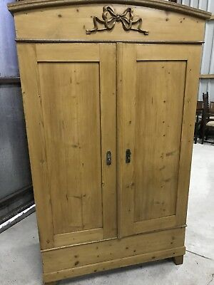 Antique Pine Knock Down Wardrobe