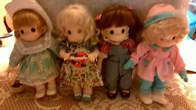Adorable Vintage Four Seasons Precious Moments Dolls - 12 inches