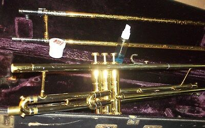Getzen  Trombone – Slide  And  Valves
