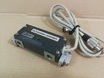 Heidenhain Linear Encoder Head LIDA 55,150 A With Mounting Brackets *