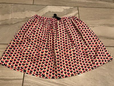 NWOT CREWCUTS Girls J. Crew Elastic Waist SKIRT Pink Blue Sz. 8 Youth Outfit NEW