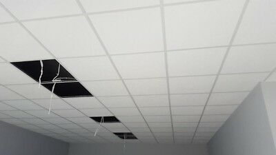 COMPLETE SUSPENDED CEILING KIT 10 SQM - White Grid - CHEAPEST IN THE UK