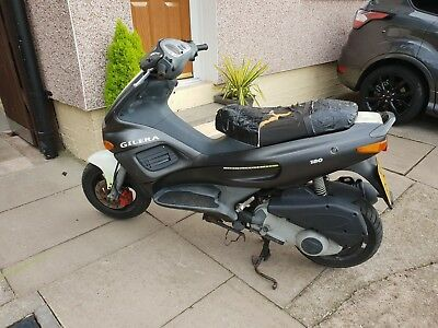 Gilera 180cc Scooter,  Runner,  4 Stroke,  Spares,  Repair,  Parts, Project