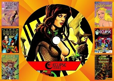 Eclipse Comic Collection On DVD Rom