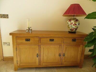 Oak Sideboard - Country Farmhouse style from Top Furniture. Perfect condition!