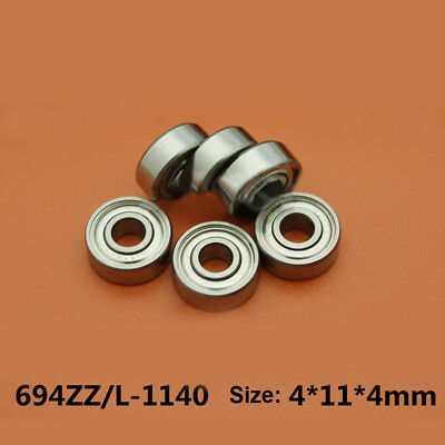 5Pcs NMB NSK Imported Miniature Bearings R-1140HH 694ZZ 4*11*4mm High Quality