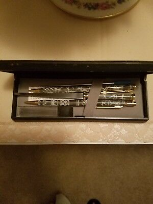 Vintage Pen, Pencil and Letter Opener Set in Box