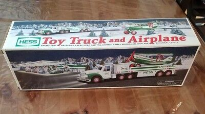 2002 Hess Toy Truck & Airplane