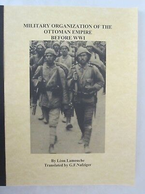 Military Organization of the Ottoman Empire Before WWI